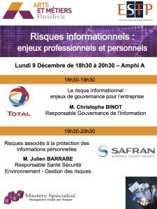 Affiche conférence MGR 9 Decembre 2013